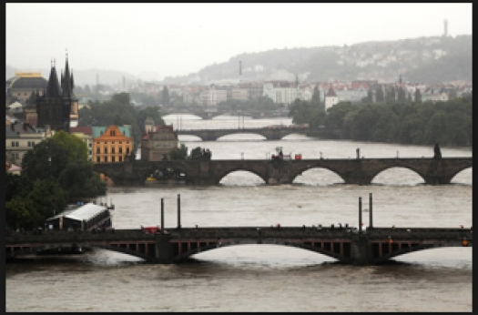 x   Prague Floods